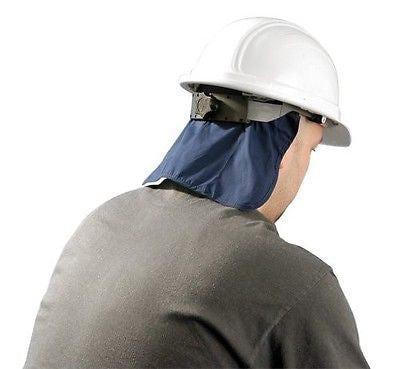 MiraCool® Hard Hat Cooling Pad Deluxe with Neck Shade  969-Navy NEW LOW PRICE!