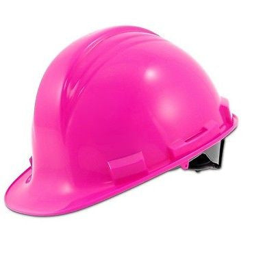 A79200000 North Safety Peak A79 Hot Pink HDPE Hard Hat with Pinlock Suspension