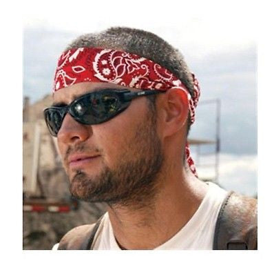 MIRACOOL BANDANA ERGODYNE EVAPORATIVE CHILL ITS TIE CLOSURE NEW CHOOSE PATTERN