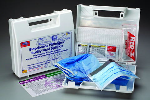 24-Unit Bloodborne Pathogen Kit- 214UFAOF