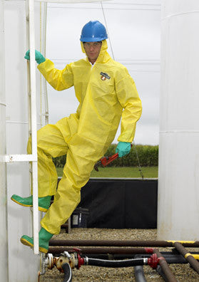 (1) Lakeland ChemMAX 1 Coverall With Hood