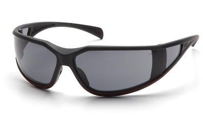 PYRAMEX EXETER SAFETY GLASSES CYCLING ANTI-FOG NEW GRAY