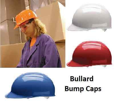 BULLARD Safety BUMP CAPS with VINYL BROW PAD COLORS NEW!!