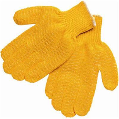 (12 Pairs) Memphis Honey Grip® String Knit Work Gloves