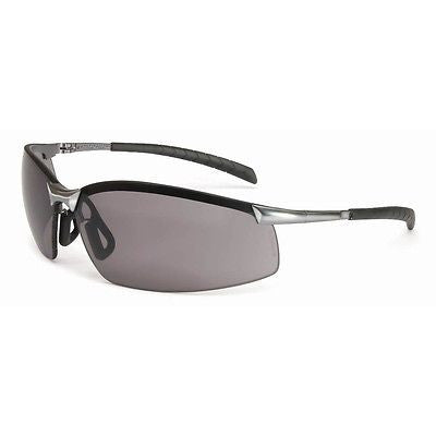 North by Honeywell A1301 GX-8 Series Safety Eyewear, Brushed Steel Frame NEW!