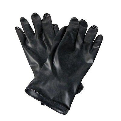 North® Butyl™ Unsupported Gloves B131 Black, S,Med,Large,XL,2XL NEW! Halloween