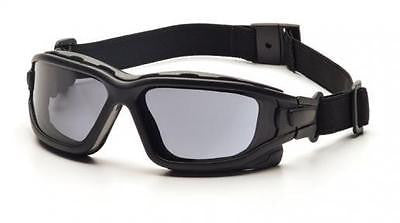 PYRAMEX Safety Goggles SKI GOGGLES SB7020SDT Tinted Smoke Gray AF LENS DIRT BIKE