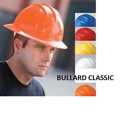 Bullard Classic Series C33R Hard Hats 6 pt Ratchet Suspension COLORS NEW!