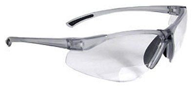 BiFocal C2-130 Clear Shooting Glasses Safety Glasses Reading Glasses +3.00