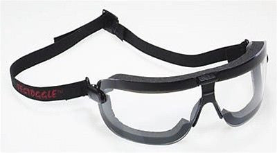 3M™ Fectoggles™ Safety Goggles,. Clear DX Lens,Black Frame, Elastic Strap NEW!