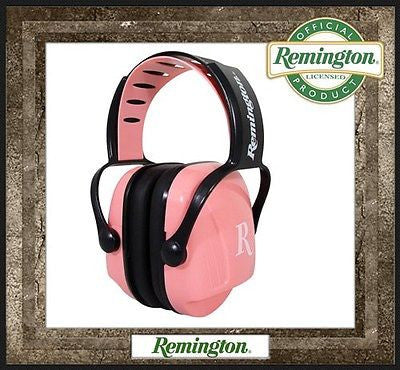 Set of Pink Remington Ear Muffs