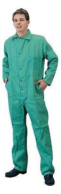 Tillman Green 6900-3XL 9 oz Cotton Flame Retardant Coveralls Halloween Costume