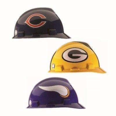 Official NFL V-Gard Hard Hats - NFC Classic Style Limited Editions- NEW VERSION