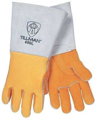 TILLMAN 850L Welding Safety Gloves, Stick, XL, 14 In. L, One Pair NEW!