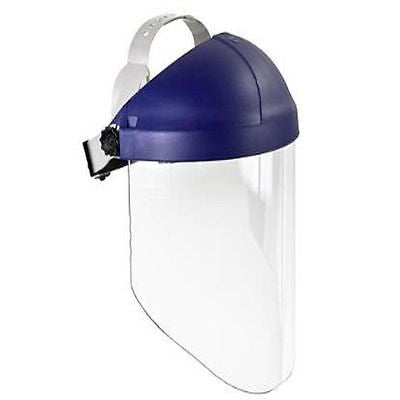 3M™ Ratchet Headgear H8A, Head and Face Protection with Clear Polycarbonate WP96