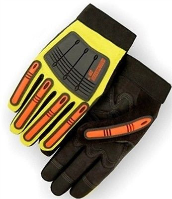 ARMORSKIN/OILFIELD GLOVES 21242HY-L METACARPAL/MECHANICS/IMPACT DRILLING NEW