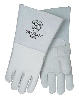 Tillman 750 Premium Top-Grain Elkskin Stick Welding Gloves, XL NEW !
