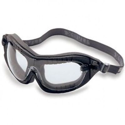 UVEX S1890X FURY SAFETY GOGGLES CLEAR LENS 1890 FLAME RESISTANT FRAME NEW! USA