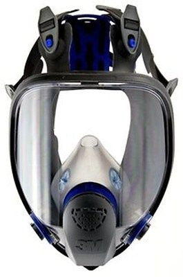 3M FF-403 LARGE ULTIMATE RESPIRATOR FACE PIECE FULL MASK REUSABLE  NEW!