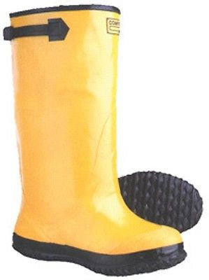 YELLOW RAIN SLUSH BOOTS SZ 10 NEW BT110