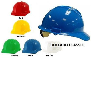 Bullard Classic Series C3OR Hard Hat CAPS 6 pt Ratchet Suspension COLORS NEW!