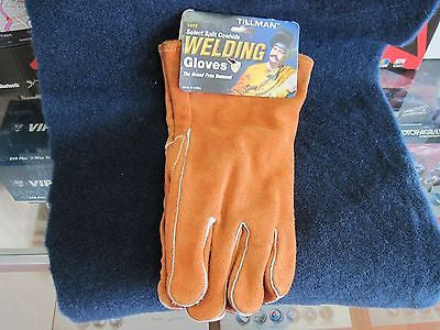 Tillman 1012 Economy Shoulder Split Cowhide Welding Gloves Size Large NEW!