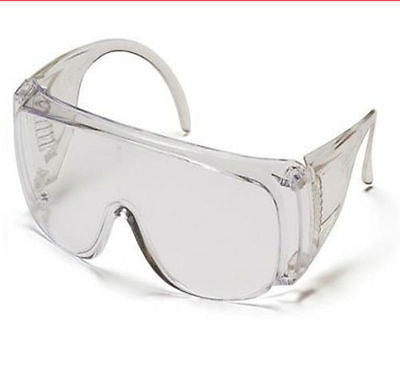 7d1771c22722d North by Honeywell Safety Visitor Goggles Clear Lens Lightweight 12 Pairs  NEW!