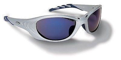 3M Fuel2® Safety Eyewear  silver frame safety glasses blue mirror NICE! NEW!