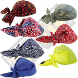 TRIANGLE TIE HATS ERGODYNE FOR WARM WEATHER -6710 CHILL-ITS COOLING BANDANA