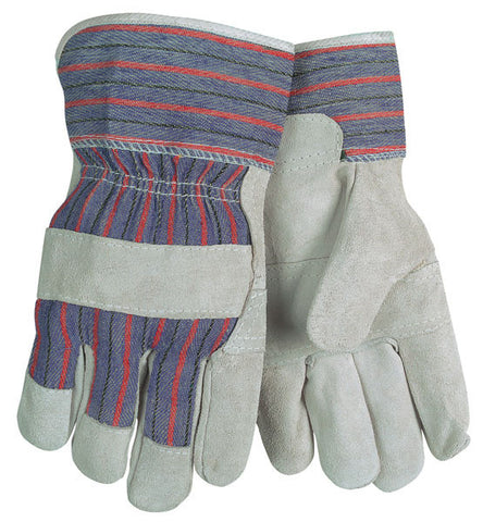 (12 Pairs) Gunn Leather Palm Gloves (L) Item 2300