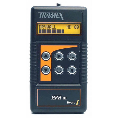 Tramex MRH III Moisture and Humidity Meter (Instrument Only)