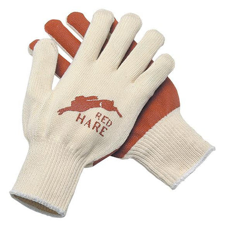(12 Pairs) Red Hare® Nitrile Palm Coated Gloves (L)