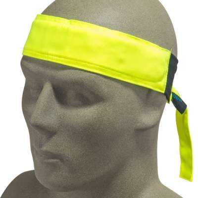 (2) Radians Hi-Viz Cooling Headband, Green