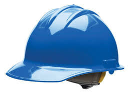 BULLARD C30R CLASSIC SERIES CAP STYLE HARD HAT W/ 6-POINT PACIFIC BLUE