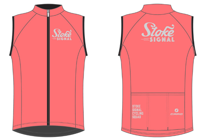Load image into Gallery viewer, Stoke Signal Squad Wind Vest
