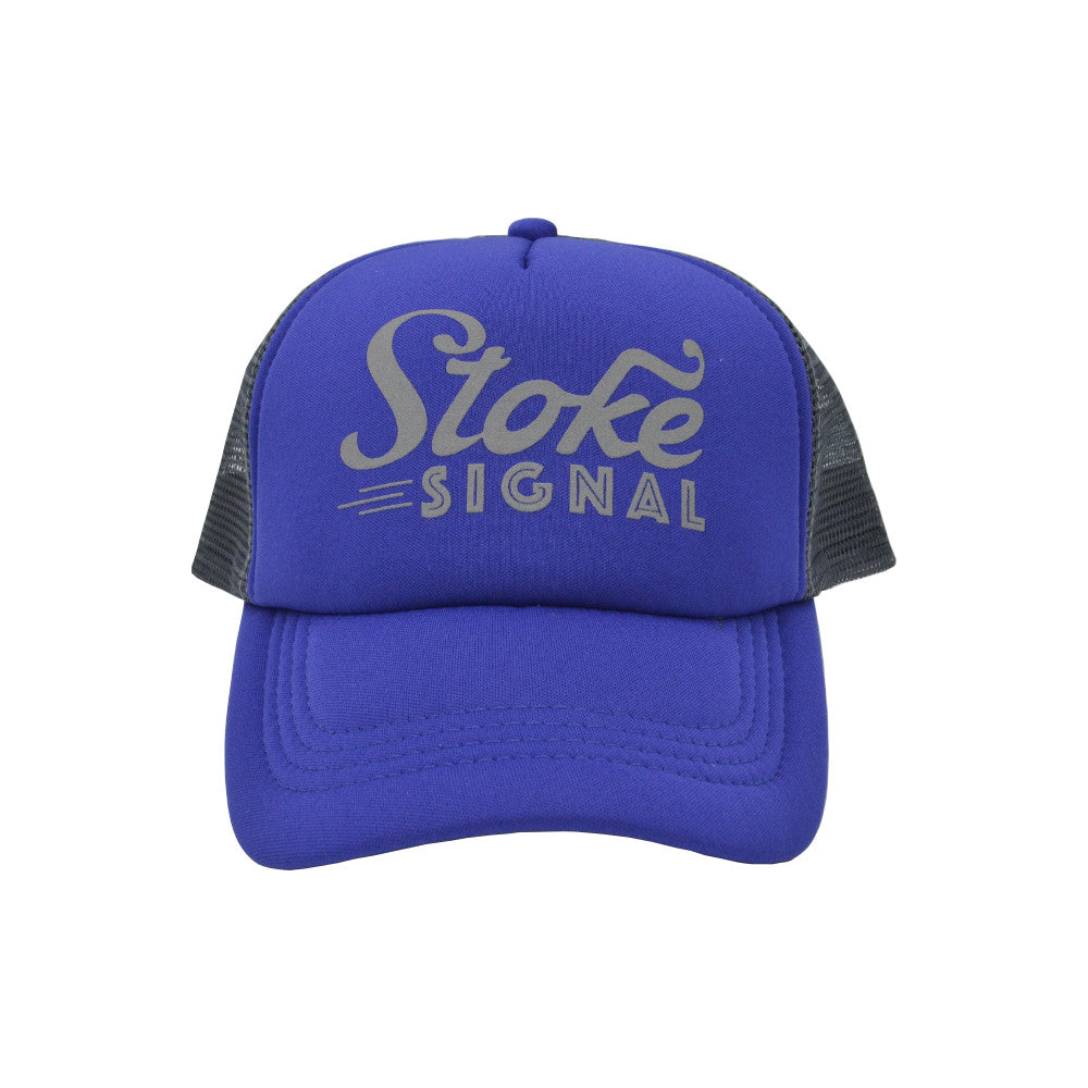 Load image into Gallery viewer, Reflective Logo Trucker Hat - Stoke Signal