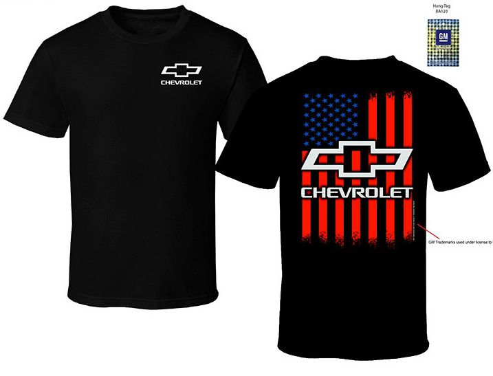 Chevrolet American Flag T-Shirt - R&W Speed Shop