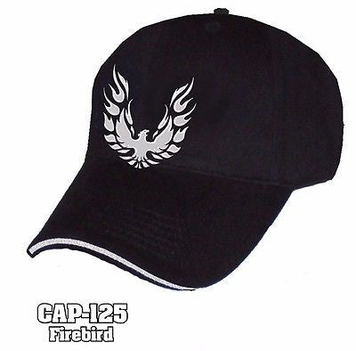 Black Pontiac Firebird Trans Am Hat - R&W Speed Shop