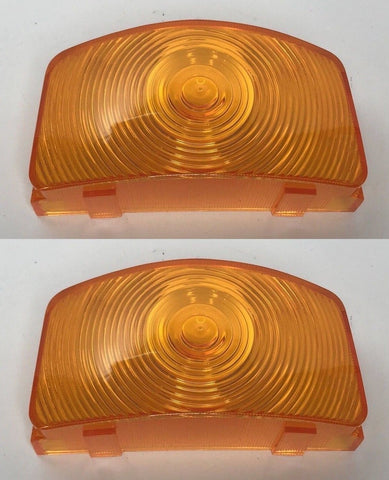 Image of Parking Light Lenses for 1955-1956 Ford F-100, F-250, and F-350 (Main)