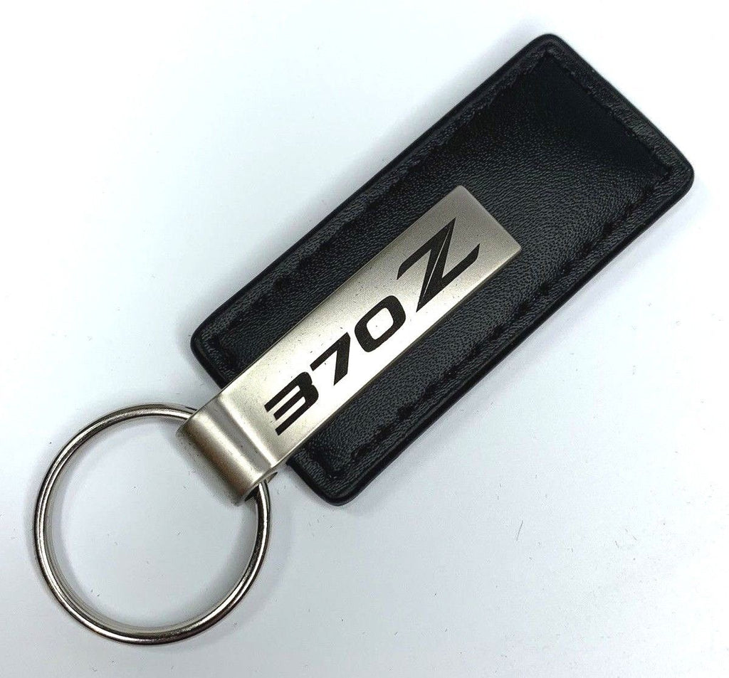 Nissan 370Z Leather Keychain - R&W Speed Shop