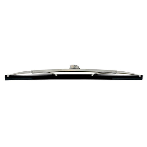 "Pair of Classic Windshield Wiper Blades - 12"" Polished Stainless Steel - Main"