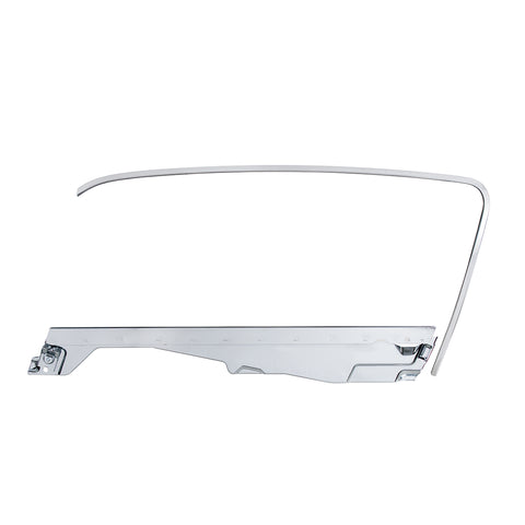 Image of Door Glass Frame and Channel Kit For 1964.5-66 Ford Mustang Fastback - L/H