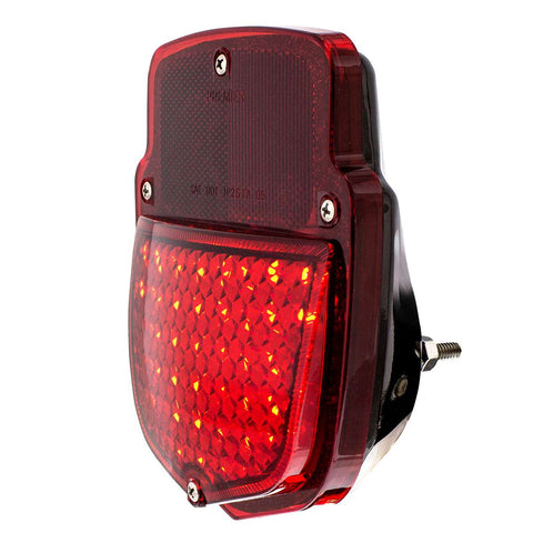 Image of 38 LED Sequential Tail Light w/Black Housing For 1953-56 Ford Truck - L/H