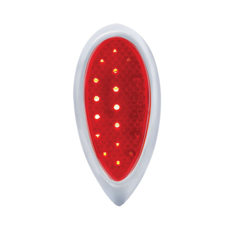 Image of 1938-39 Ford Car Style LED Sequential Tail Light With Chrome Flush Mount Bezel