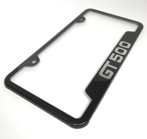 Ford Shelby Mustang GT500 License Plate Frame (Top)