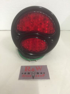 Ford Model A Tail Light - Gloss Black - 1928-1931 - Main