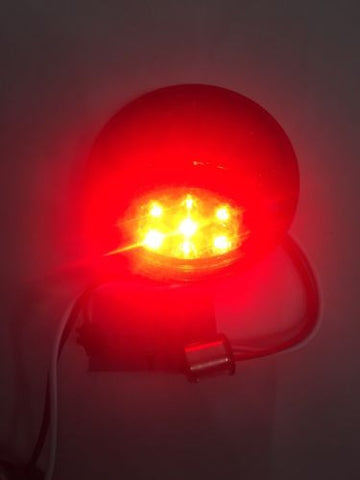Image of Ford Model A Tail Light - LED Conversion Insert Passenger Side - 1928-1931 - Top Light