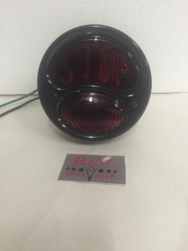 Ford Model A Tail Light - Black Stop Light - 1928-1931 - Main