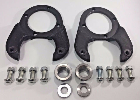 Image of Disc Brake Spindle Brackets Kit for 1937-48 Ford-Live Fast Supply Company