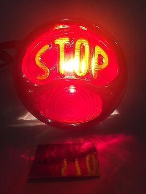 Image of Model A Tail Light - Ford Duolamp Stop Light - Original Style 1928-1931 - Both Lights